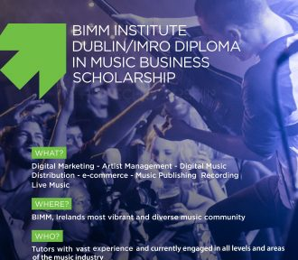 BIMM and IMRO announce Diploma in Music Business scholarship