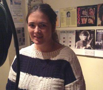 Shauna records 'Jealous Of The Angels' at David Dwane Recording Studio, Ballina