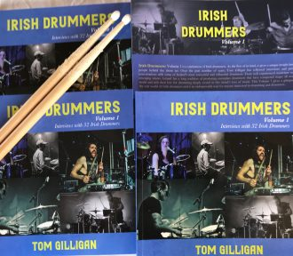Interviews with great Irish drummers feature in a new book by Tom Gilligan
